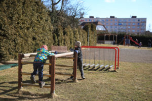 Družina - venkovní aktivity
